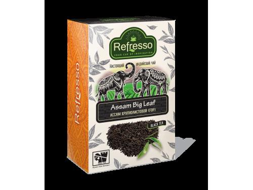 Чай Refresso  Ассам черный крупнолистовой
