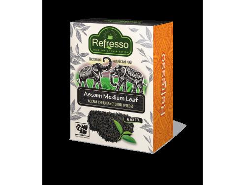 Чай Refresso  Ассам черный cреднелистовой