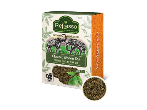 Чай Refresso классический зеленый