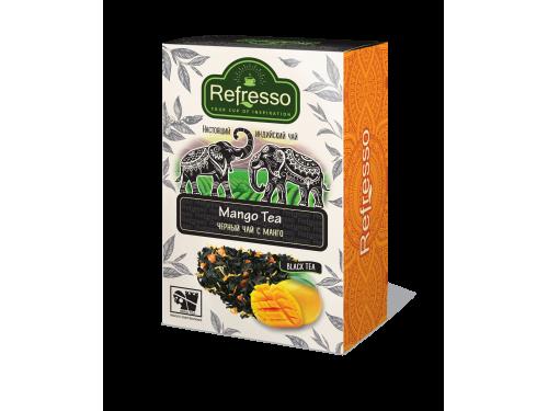 Чай Refresso  черный манго