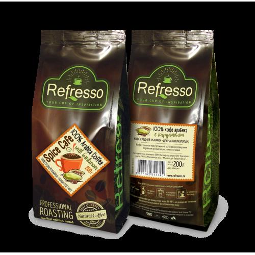 Refresso Spice Cafe Кофе с кардамоном
